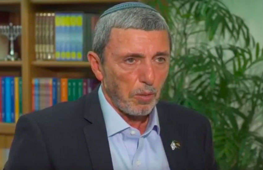 Israeli Education Minister and rabbi Rafi Peretz