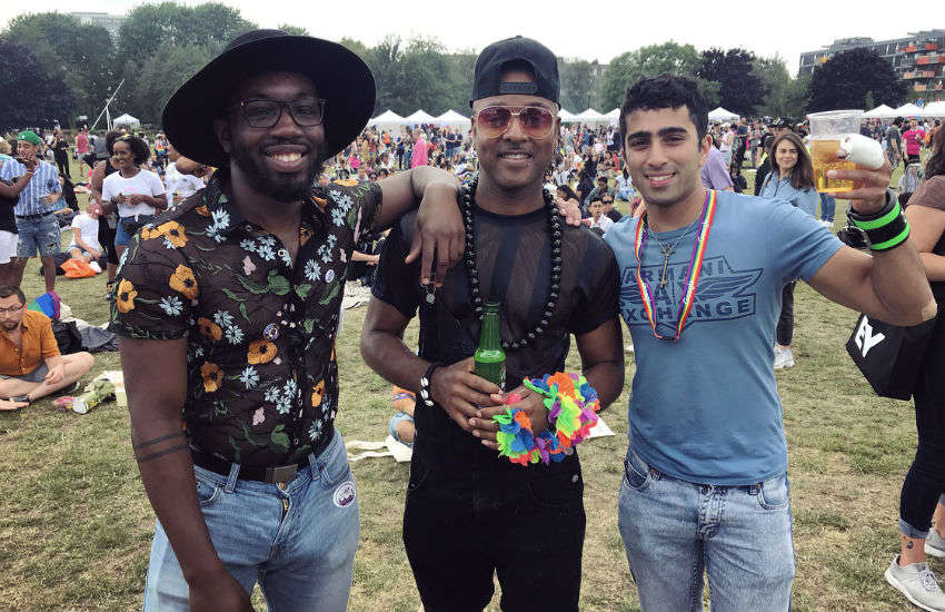 UK Black Pride 2019 took place in Haggerston Park, East London