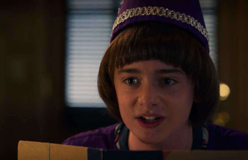 Will Byers in a scene of Stranger Things
