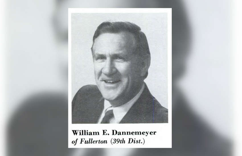 Former California Rep. William Dannemeyer