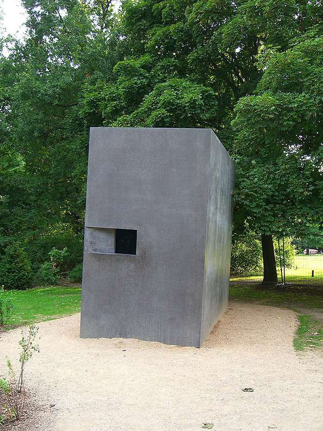 The Memorial to Homosexuals Persecuted under Nazism.