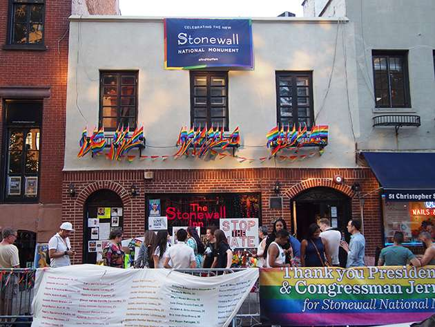 The Stonewall Inn as it looks today.