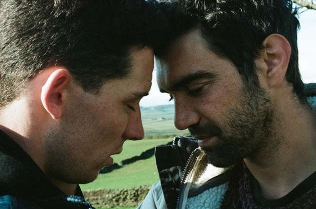 Josh O'Connor and Alec Secareanu in God's Own Country.