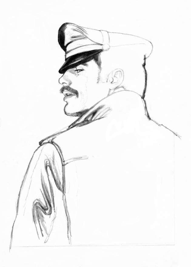 Tom of Finland unfinished