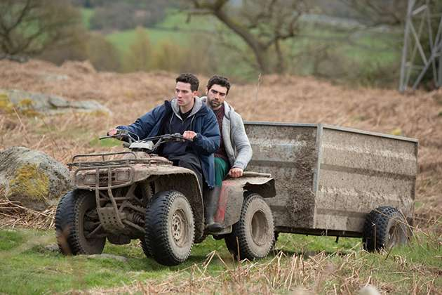 Johnny and Gheorghe in God's Own Country.