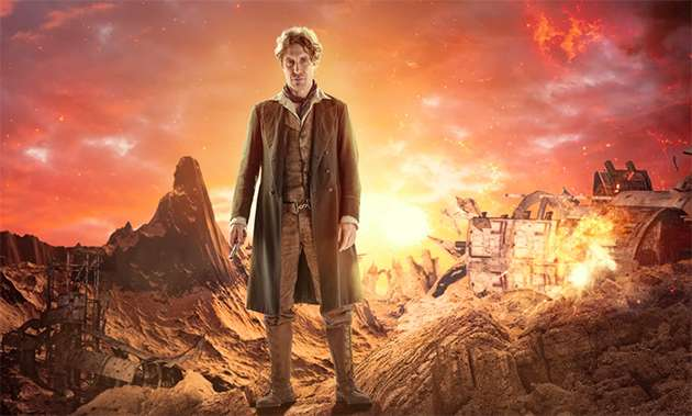 Paul McGann as The Doctor.