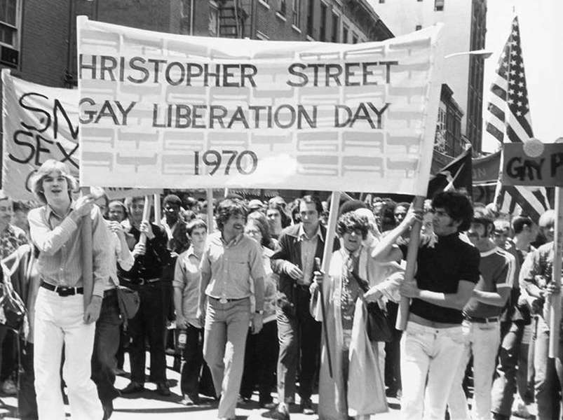 Christopher Street Gay Liberation Day 1970.