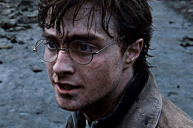 Defeating evil: Daniel Radcliffe starring as Harry Potter.