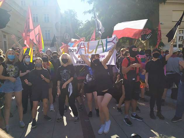 Warsaw saw LGBT+ activists face off against nationalists.