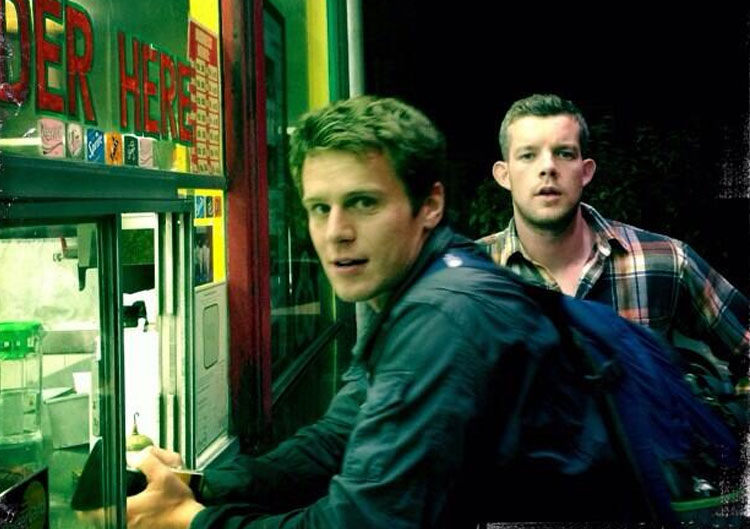 Jonathan Groff and Russell Tovey in Looking