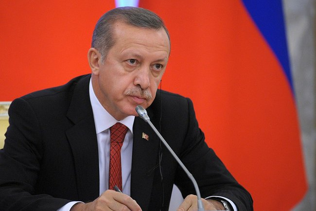 Turkish president Erdogan has criticized the West for alleged inaction in Syria